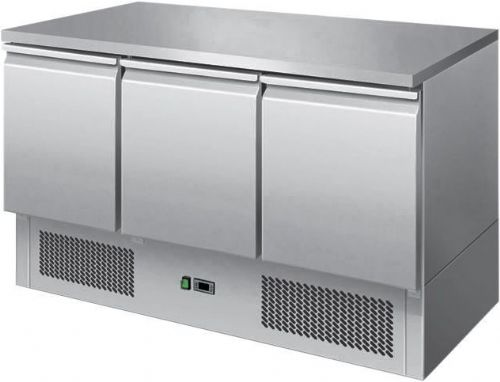 Ice-A-Cool ICE3851GR 3 Door Undercounter Refrigerator 380 Litres